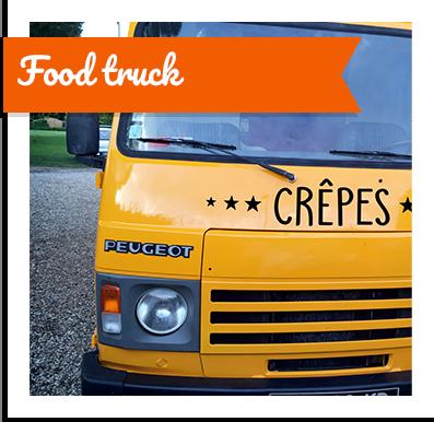 Food truck itinérant